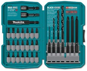 Makita T 01373 38 Piece Impact Drill driver Bit Set