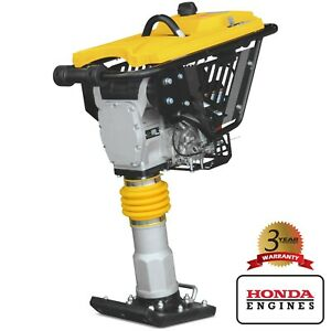 Jumping Jack Vibratory Rammer Tamper For Asphalt And Cohesive Soil W 3hp Honda