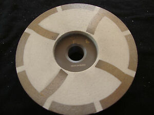 4 Inch Diamond Grinding Cup Wheel Resin Fine Grit Wet Dry Granite Marble Stone
