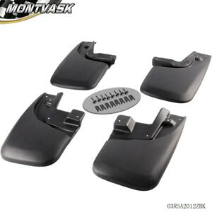 4pc For 2005 2015 Toyota Tacoma Mud Flaps Mud Guards Splash Guards Rear Front