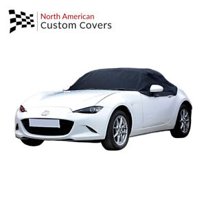 Rp262 Mazda Miata Mx5 Mk4 Convertible Soft Top Roof Half Cover 2015 To 2020