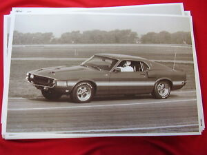 1969 Ford Shelby Mustang Gt 500 Fastback 11 X 17 Photo Picture