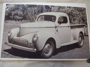 1941 Willys Pickup 11 X 17 Photo Picture