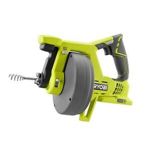 Cordless 18 Volt One Tub Sink Drain Opener Auger Plumbing Tool tool Only