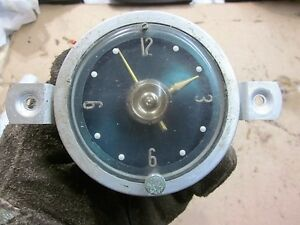 1956 Packard Clipper 12 Volt Clock By Borg May 56 Date