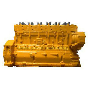 Caterpillar 3406e Remanufactured Diesel Engine Long Block Or 3 4 Engine