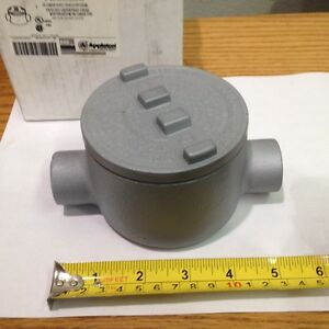 Appleton Electric Grc75 Explosion Proof Conduit Outlet Box new In Box