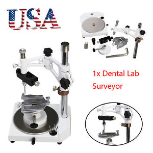 Usa Dental Lab Parallel Surveyor Equipment W tools Handpiece Holder Complete Set