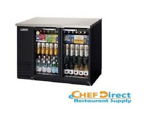 Everest Ebb48g 24 Back Bar Cooler 2 Glass Door Refrigerator