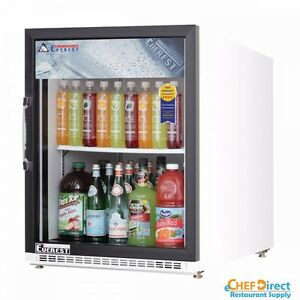 Everest Emgr5 25 Single Swing Glass Door Merchandiser Refrigerator