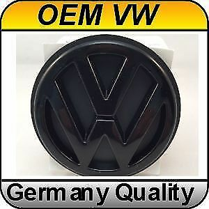 Original Volkswagen Golf 3 Rear Emblem Black Oem Badge Vw Mk3 1996 1999