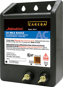 Zareba Ac Low Impedance Electric Fence Charger By Pet Sourcing