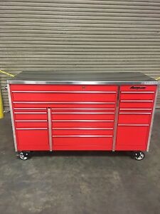 Snap On Tool Box In Red