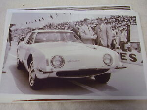 1963 Studebaker Avanti At Indy 500 11 X 17 Photo Picture
