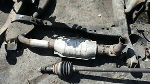 Exhaust Muffler For 85 Pontiac Fiero Gt 2 8l Gm Used With Tips And Pipe