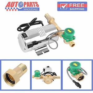 New Domestic 90w Self Priming Shower Pressure Water Booster Stainless Pump
