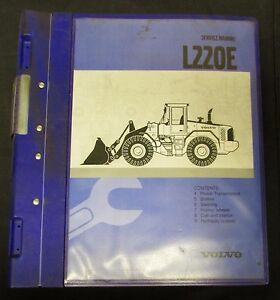 Volvo L220e Front End Wheel Loader Service Manual 3 3 three Of Three