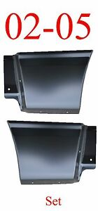 02 05 Ford Explorer Lower Quarter Patch Set Rear Bed Patch Repair Panel