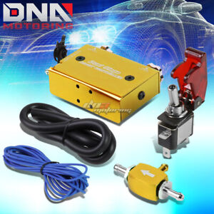 Universal Dual Stage Turbo charger Manual Bypass Psi Boost Controller switch Gol