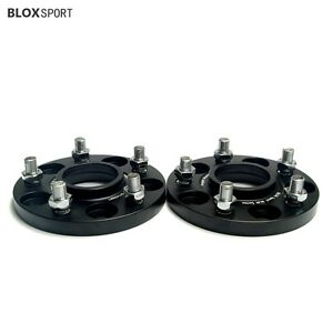 4x 15mm 5 Stud Wheel Spacers For Mitsubishi Evo 10 9 8 Lancer Evolution 3000gt