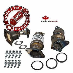 All Three Catalytic Converters For 2002 2003 Nissan Maxima 3 5l Direct Fit