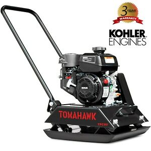 6 Hp Forward Gas Walk Behind Plate Compactor Tamper Kohler Ch260 Engine