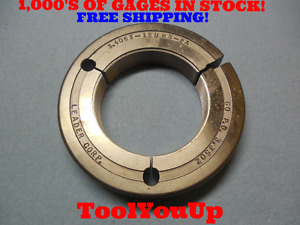 3 4063 12 Unc Thread Ring Gage Go Only P d 3 3502 Tooling Inspection Tool