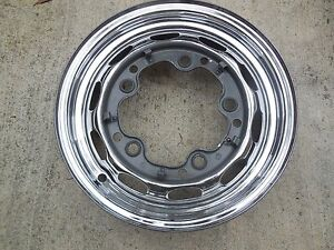Porsche 356 Original Kpz Drum Brake Wheel rim 6 61 14 1 2 J 15