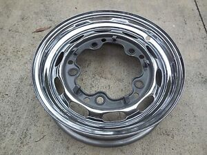 Porsche 356 Original Kpz Drum Brake Wheel rim 1 63 14 1 2 J 15