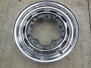 Porsche 356 Original Kpz Drum Brake Wheel rim 1 62 14 1 2 J 15