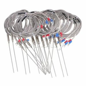 20xk Type Thermocouple Temperature Controller Steel Sensor 1 5mm Probe 2m