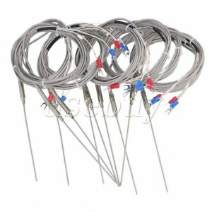 10xk Type Thermocouple Temperature Controller Steel Sensor 1 5mm Probe 2m