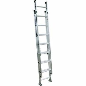 Extension Ladder D1516 2 Werner Aluminum Extention 300 Lb Capacity