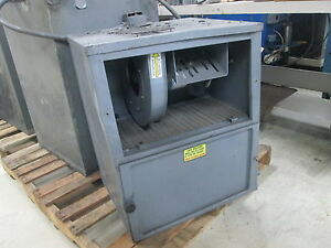Donaldson Torit 115 Volt 1ph Wire Mesh Filter Dust Collector Working Cond