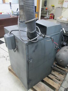 Torit Model 66 1 2 Hp 220 440volt 60 Cycle Wire Mesh Filter Dust Collector As Is