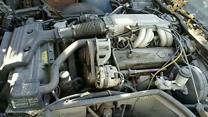 86 Corvette Engine 8 350 5 7l Tpi With Auto Transmission Ecu Comp Lift Out