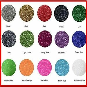 Glitter Heat Transfer Fame Crafts Vinyl 15 color Starter Bundle Easy To Weed