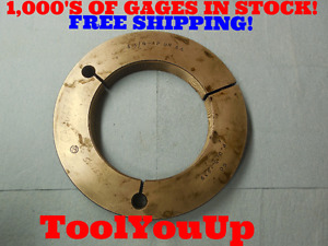 5 1 4 12 Un 2a Thread Ring Gage 5 250 Go Only P d 5 1939 Precision Tooling Too