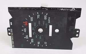 87 88 89 Ford Mustang 2 3 Instrument Speedometer Odometer Cluster Oem 17a277