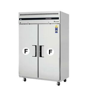 New Everest Single Solid Door Reach in Freezer 49 Esf2 Free Shipping
