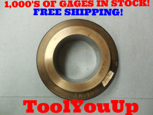 Master 2 4415 Class Y Plain Smooth Bore Ring Gage 2 1 2 2 50 0585 Undersize
