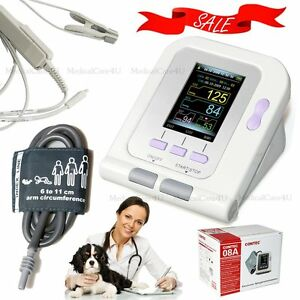 New Veterinary Blood Pressure Monitor Animal Use Nibp Spo2 Monitor Pulse Rate ce