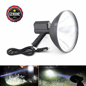 9 Inch Cree Handheld Hid Spotlight Hunting Camping Fishing Farming Search Light