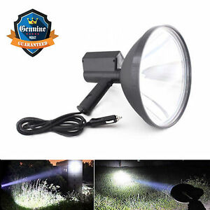 2017 New Style 9 Cree 100w Handheld Hid Spotlight Hunting Camping Search Light