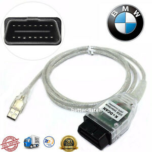 Mini Bmw Inpa K Dcan Usb Interface Obd2 Obdii Car Diagnostic Tool Cable Scanner