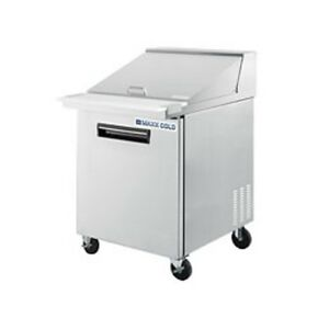 New Maxx Cold Sandwich Prep Cooler 29 Mxcr29s Free Shipping