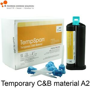 Pentron Tempspan C b Dental Temporary Crown Bridge Material A2 80gr