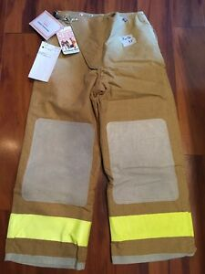 Globe Firefighter Bunker Turnout Pants 30x26 1993 Vintage New W Tags