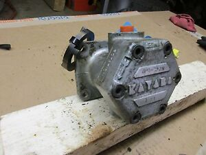 Kubota L260p Oil Pressure Pump Part 32270 36103