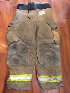 Firefighter Bunker Turnout Gear Pants Globe 34x30 G Extreme Halloween Costume